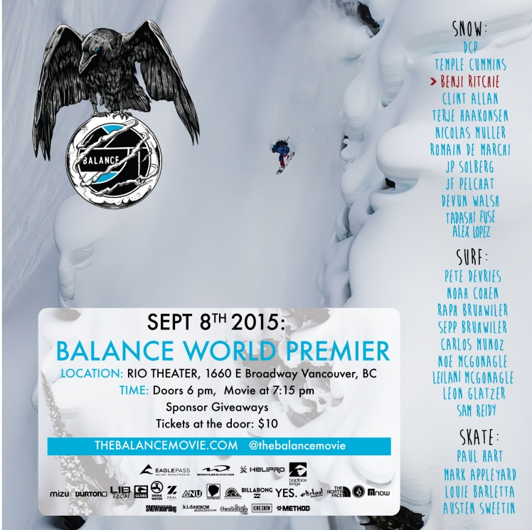 BALANCE movie Vancouver posterFACEBOOK