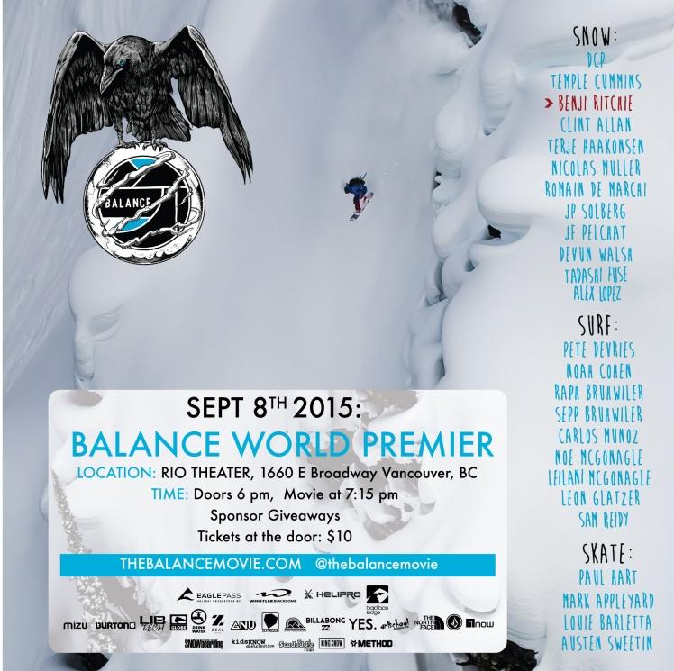 BALANCE movie Vancouver posterFACEBOOK